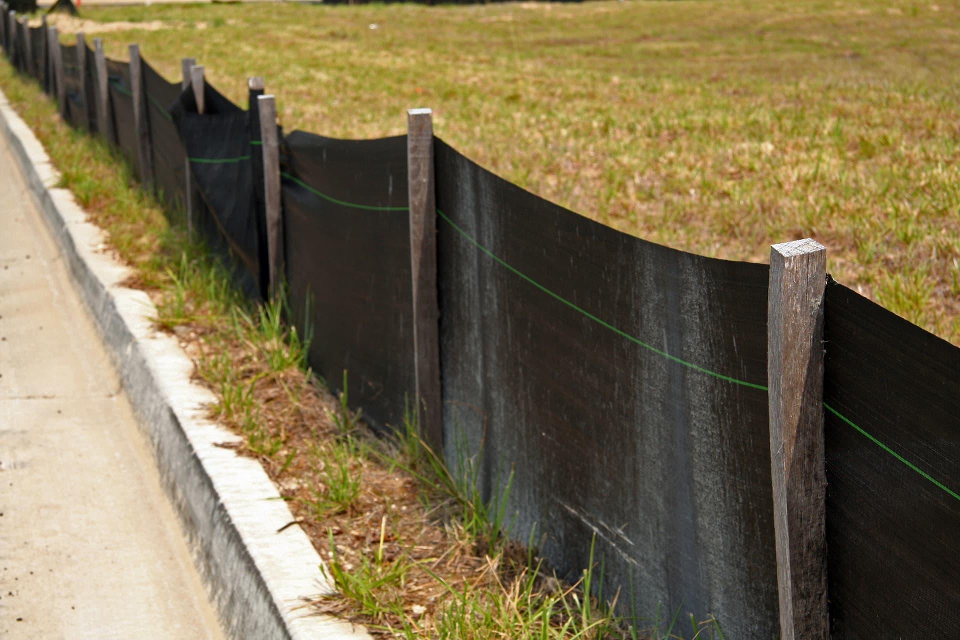 construction site erosion control